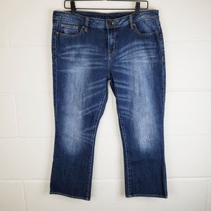 Buffalo David Bitton Crop Jeans